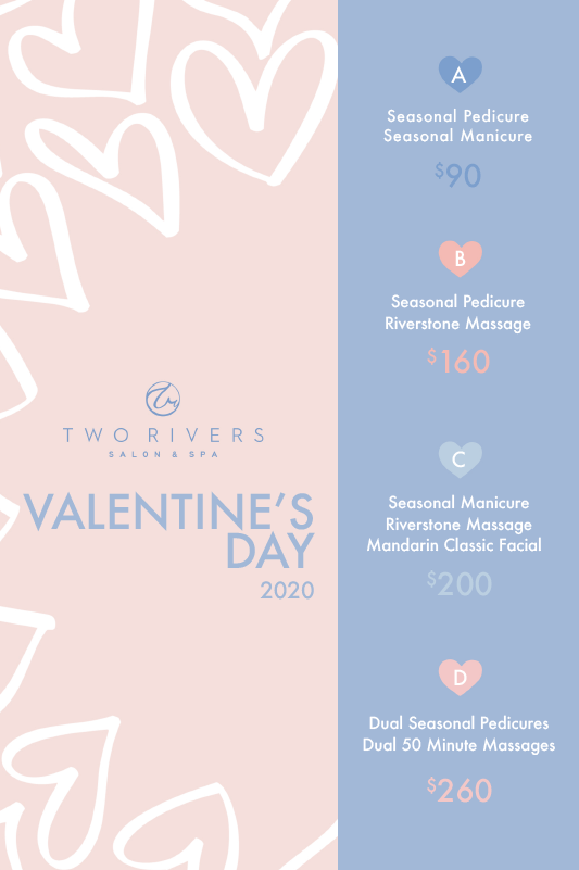 Two Rivers Spa - Valentine's Day Package